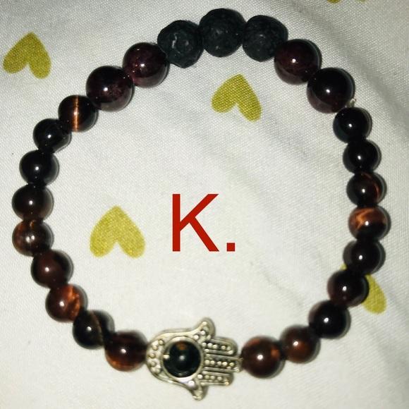 Jewelry - K. Red Tigers Eye Root Chakra Balancing Bracelet